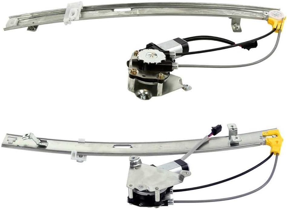 Prime Choice Auto Parts WR848571PR Rear Window Regulator Pair
