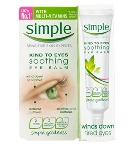 Simple Kind To Eyes Soothing Eye Balm 15Ml - Pack of 2
