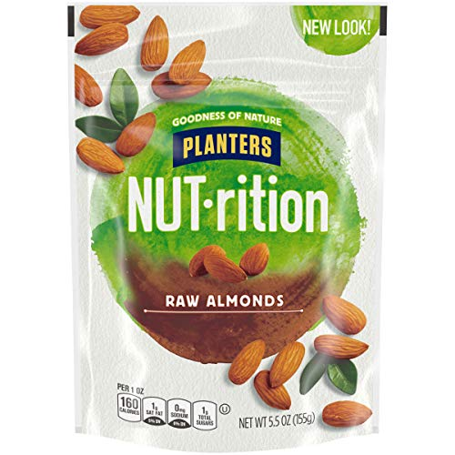 Planters Raw Almonds, 5.5 oz Bag