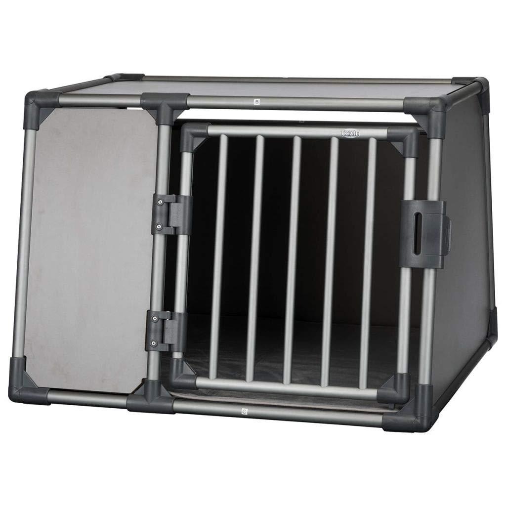 L Trixie Transport Box, Aluminium, 92 x 64 x 78 cm, Graphite