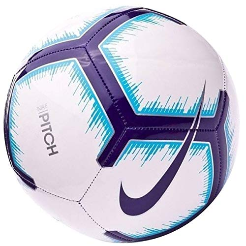 NIKE Premier League Pitch Soccer Ball (4) (Soccer Ball Size 4 Pack)
