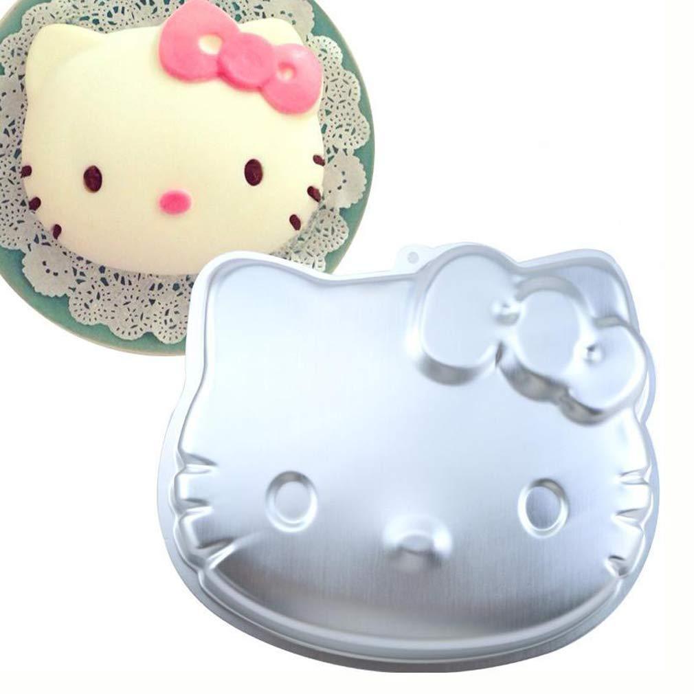 Aluminum Alloy Hello Kitty Cake Baking Pans Bake Mold by magpross
