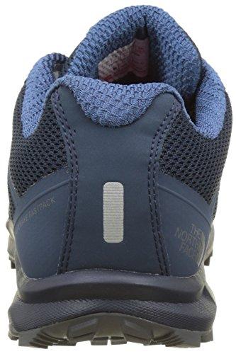 The North Face Litewave Fastpack, Botas de Senderismo para Hombre Azul (Shady Blue /                     Zinc Grey)