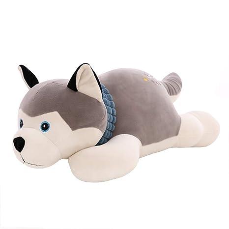 UK/_ EG/_ Cute Husky Dog Plush Toy Doll Stuffed Pillow Home Sofa Decor Child Xmas