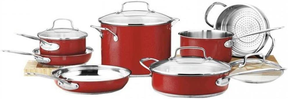 Cuisinart CS19-16MR Chef/'s Classic Stainless 1-1//2-Quart Saucepan with Cover Me