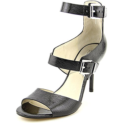Michael Michael Kors Adriana Ankle Strap Women US 10 Black Sandals