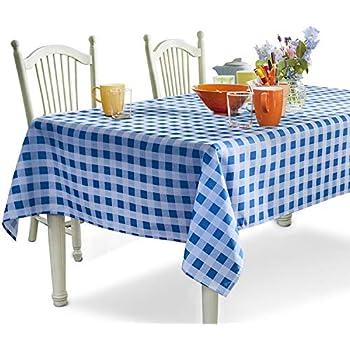 Amazon Com 60 X 80 Inch Rectangular Tablecloth Ivory
