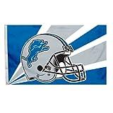 Fremont Die NFL Detroit Lions 3-by-5 Foot Helmet Flag Review