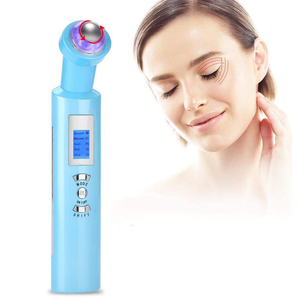 Eye Massage Roller,Electric Eye Massage 360°Rolling Anti-Dark Circle Wrinkle Removal Eye Skin Care Tool Anti-Wrinkle, Reduce Eyes Puffiness, Dark Circles (US)
