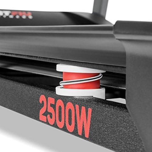 Cinta de correr plegable de 2500W con pantalla LED: Amazon.es ...