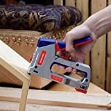 WORKPRO Heavy-Duty Staple Gun Kit, 4-in-1, Manual Brad Nailer with 3000 Staples and 1000 Brad Nails, Stapler for Upholstery, Material Repair, Decoration, DIY, Furniture, Doors and Windows, Carpentry