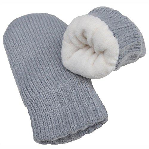 4ee0b384f25 Twinklebelle Warm Cute Baby Toddler Kid s Fall Winter Earflap Beanie Hat OR  Fleece Lined Mittens