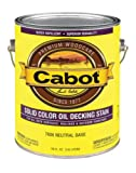 deck stain colors Cabot VOC Solid Color Oil-Based Decking Stain