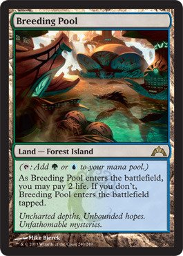 Magic: The Gathering - Breeding Pool (240) - Gatecrash ()