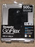 Seagate Goflex 500gb USB 2.0 + 3.0 Ultra External Portable Hard Drive