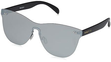 SUNPERS Sunglasses su24.4Brille Sonnenbrille Unisex Erwachsene, Schwarz