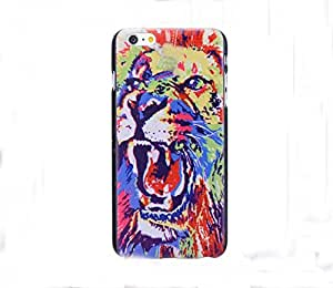 Iphone 6 Plus Case,LYYF Fashion and High Quality the Angry Lion Hard Case/cover for Iphone 6 Plus
