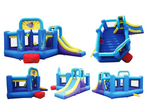 Bounceland Pop Star Inflatable Bounce House Bouncer by Bounceland (Image #1)