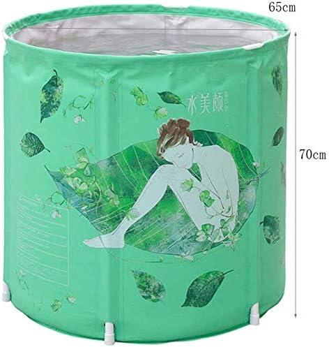 断熱材は、折りたたみ式バスバケット環境に優しい浴槽なしで膨張した肥厚したプラスチック製の大人用バスバケット70 * 70cmを広げました,70*70cm