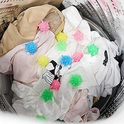 Eco-Fridenly Colorful Laundry Ball Washing Ball, Set of 10 1.9 inch