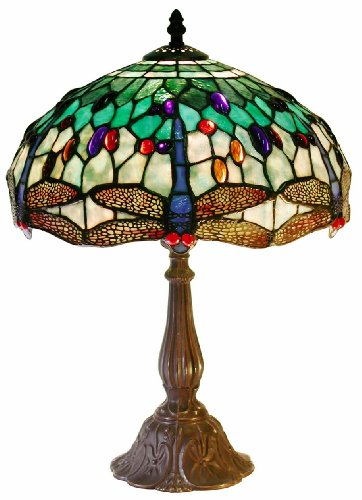 Tiffany Style DragonflyTable Lamp