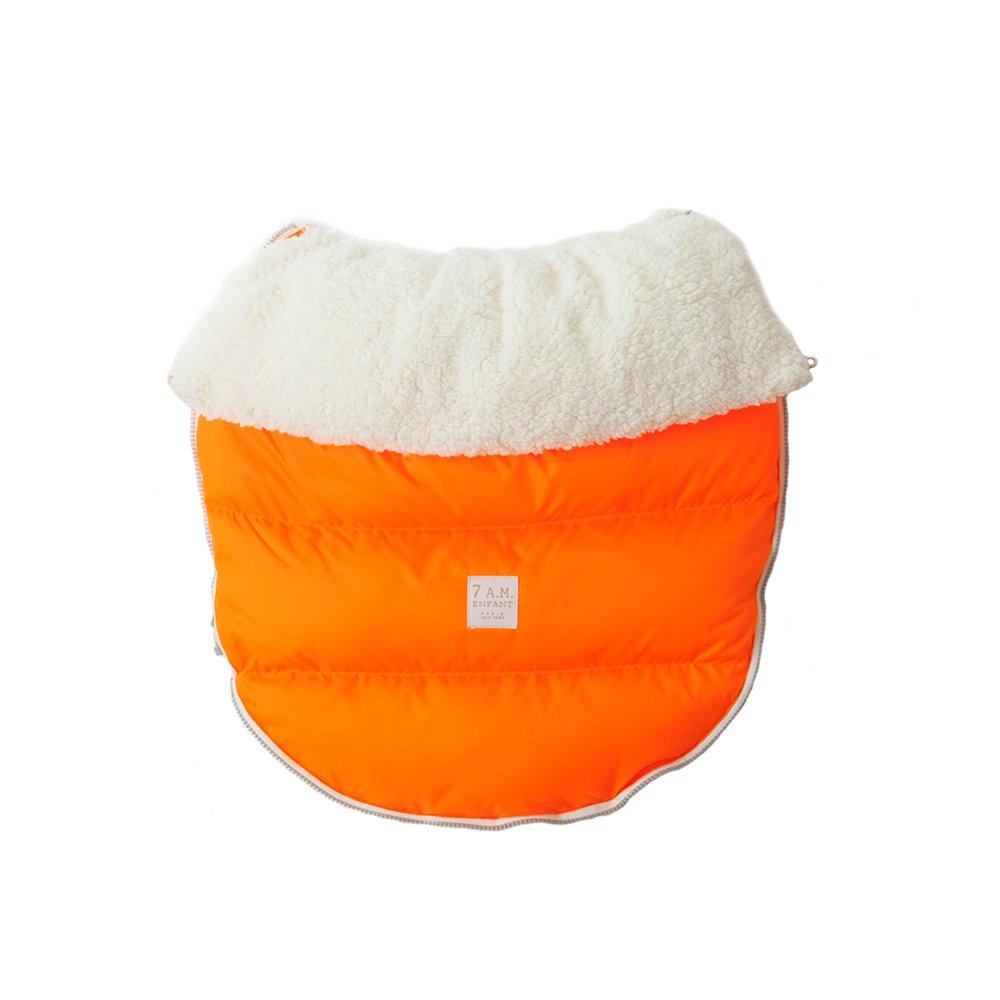 7AM Enfant Lamb Pod Cover for Strollers and Car-Seats, Neon Orange, Medium/Large 7 A.M. Enfant PODLC10M/L-NO