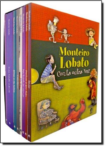 Conta Outra Vez - Caixa Em Portuguese do Brasil: Amazon.es: Monteiro Lobato: Libros