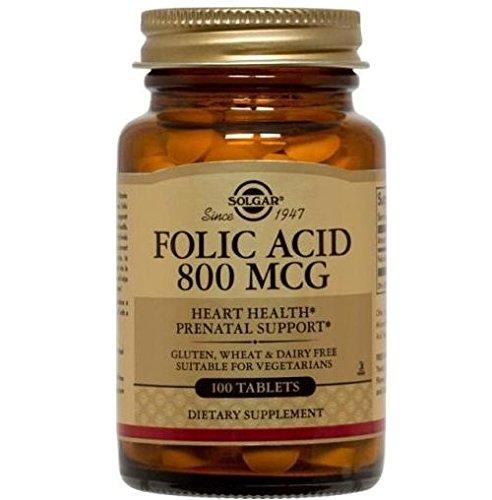 【海外直送品】【2個セット】Solgar - Folic Acid 800mcg - 250錠 葉酸 B01GUITDLC