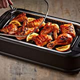 Honesty Power Smokeless Grill with Tempered Glass Lid and Turbo Speed Smoke Extractor Technology