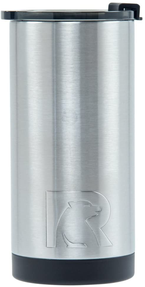 RTIC 6 Double Wall Vacuum Insulated Tallboy, 10 oz, Stainless Steel