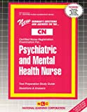 Psychiatric and Mental Health Nurse, Rudman, Jack, 0837361125
