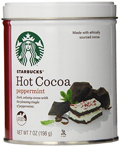 Starbucks Hot Cocoa, Peppermint, 7 Ounce