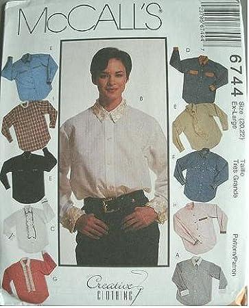 Tallas camisa, chorrera extraíble y corbata tamaño 20 – 22 ...