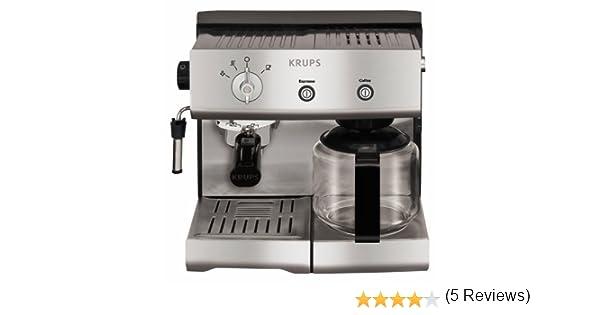 Krups YY8203, Aluminio, 1450 W - Máquina de café: Amazon.es: Hogar