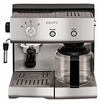 Krups YY8203, Aluminio, 1450 W - Máquina de café