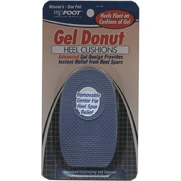 Amazon.com: Pro pie Gel Donut Mujer Talón Cojines (paquete ...