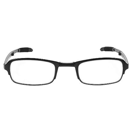 Sonew Gafas de Lectura Presbicia, Vidrio de Lectura Plegable Portátil y Ligero Unisex Lentes de Aumento para Computadora, Lectura, Video Juegos, ...