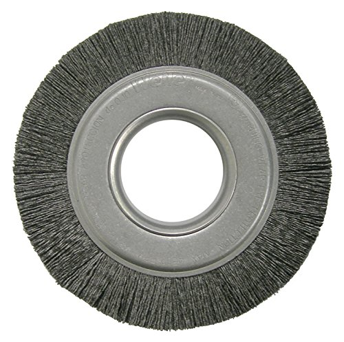 Weiler 86123 Burr-Rx Crimped Filament Wheel Brush, 6