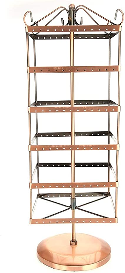 136 Holes Earring Necklace Bracelet Jewelry Stand Holder Organizer Display Rack