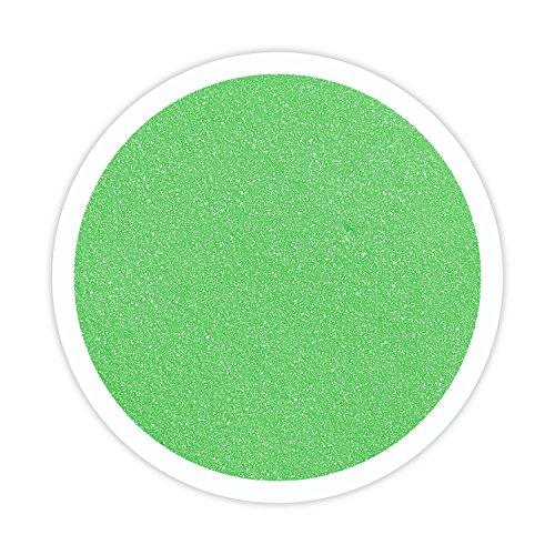 Sandsational Lime Green Unity Sand~1.5 lbs (22 oz), Lime Colored Sand for Weddings, Vase Filler, Home Décor, Craft Sand]()