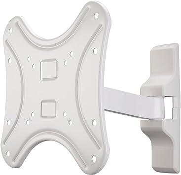 Hama Fullmotion - Soporte pared para televisores (1 brazo, tamaño L), color blanco: Amazon.es: Electrónica