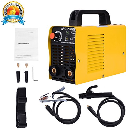 ARC Welding Machine, 110V, 200Amp Power, IGBT AC DC Beginner