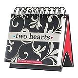 Flip Calendar - Two Hearts