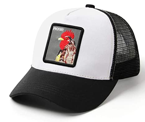 ZYMZ Black Snapback Gorra de béisbol Hombres Mujeres Granja de ...
