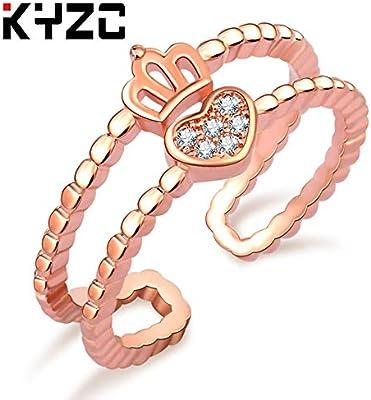 Csae Ebay Japan South Korea Adjustable Crown Ring Bridal Wedding