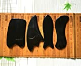 Acupress-Genuine-Natural-Black-Buffalo-Horn-GuaSha-Scraping-Massage-Tools-for-Graston-SPA-Acupuncture-Therapy-Trigger-Point-Treatment4-Shapes-per-Set-for-Multiple-Use