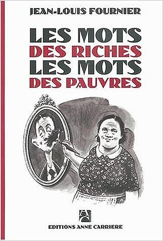 Les mots des riches, les mots des pauvres pdf, epub