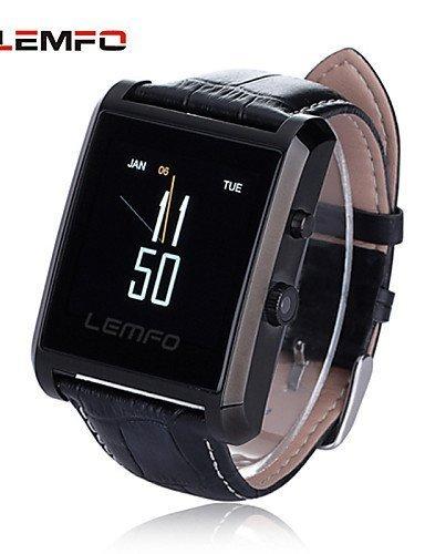 LEMFO LF06 Waterproof Bluetooth Smart Watch IPS Touch Screen Drop Resistance Smartwatch with Camera Sweatproof, Silver