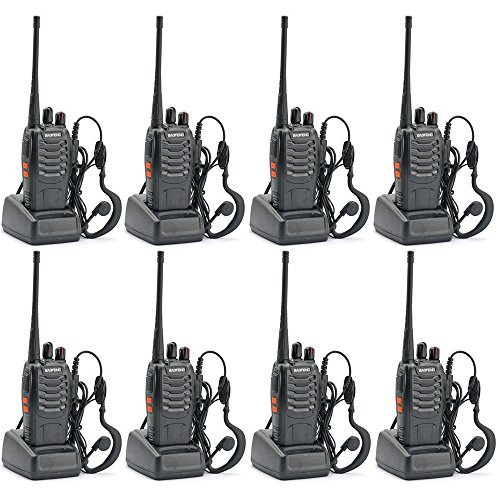 Walkie Talkie Radio 8PCS Ammiy baofeng BF-888S Portable Ham