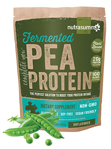 Nutrasumma Fermented Pea Protein, 1lb, Unflavored and Unsweetened by Nutrasumma